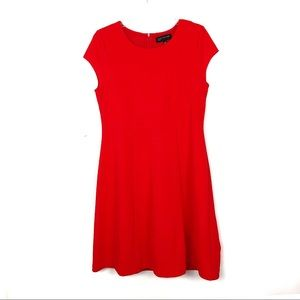 Jones New York | Red A-Line Dress